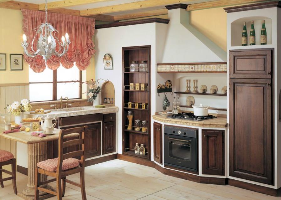 Cucine in muratura e finta muratura - Cucine in finta muratura ...