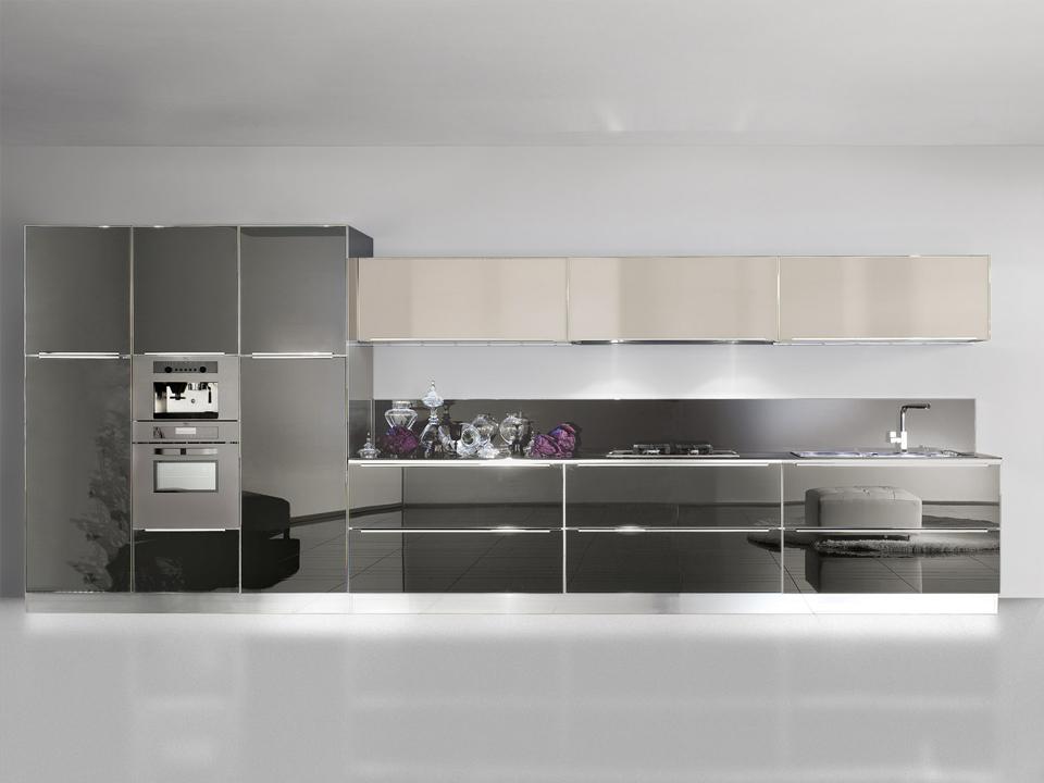 Ben noto Cucine Bianche E Grigio Perla Moderne ~ Una Collezione di Idee per  CU21