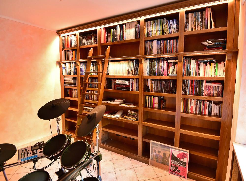 Librerie classiche - Scale scorrevoli per biblioteche ...