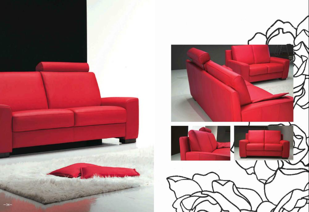 Divani e arredo per il soggiorno divano in pelle mobile for Divani per soggiorno