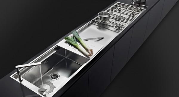 Piani In Acciaio Per Cucine. Awesome Mobili In Acciaio Per Cucina ...